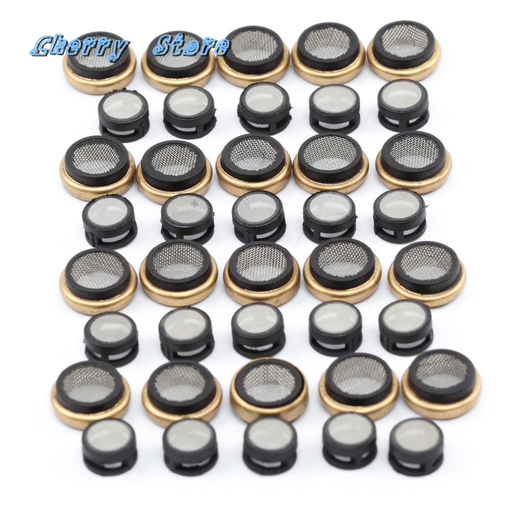 NEW 06H 103 081 E 40Pcs EA888 Engine Oil Filter Mesh Oil Seal Ring For Audi A4 A6 Q5 VW Golf Jetta Passat Skoda Seat 1.8T 2.0T