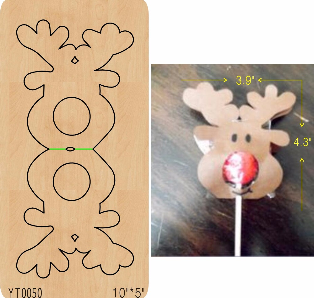 Candy wrapper bag DIY cutting tool die YT0050 Scrapbook mold