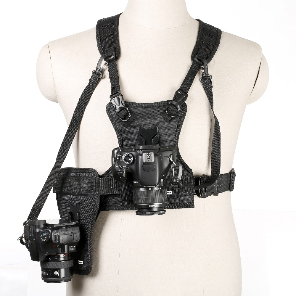 Multi Camera Photo Waist Strap Belt Carrier Harness Holster System Soft Padded Strap for Digital SLR Camera Multi Camera Photo Waist Strap Belt Carrier Harness Holster System Soft Padded Strap for Digital SLR Camera