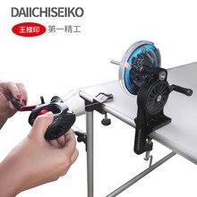 Daiichiseiko linha de pesca portátil enrolador carretel spooler sistema equipamento para fiação ou arremesso carretel de pesca linha dobadoura