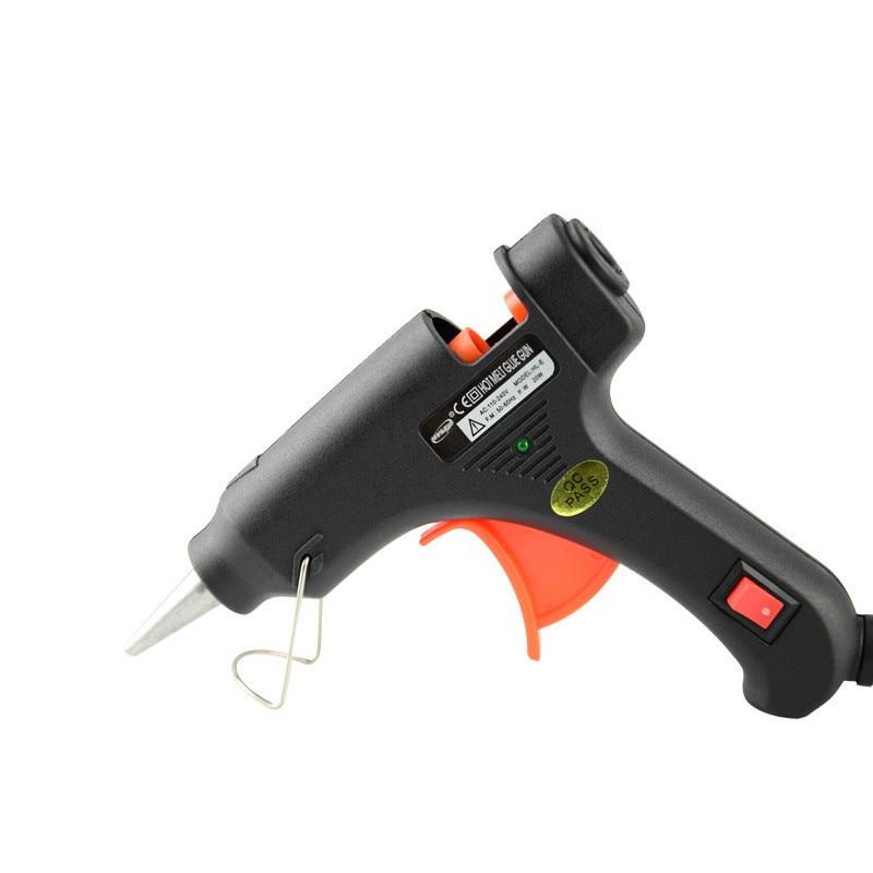 20 Вт термоклей пистолет ремонт инструмент промышленной мини пистолет ЕС Plug использование 7 мм термоклей палочки термо-электрический тепла Температура инструмент