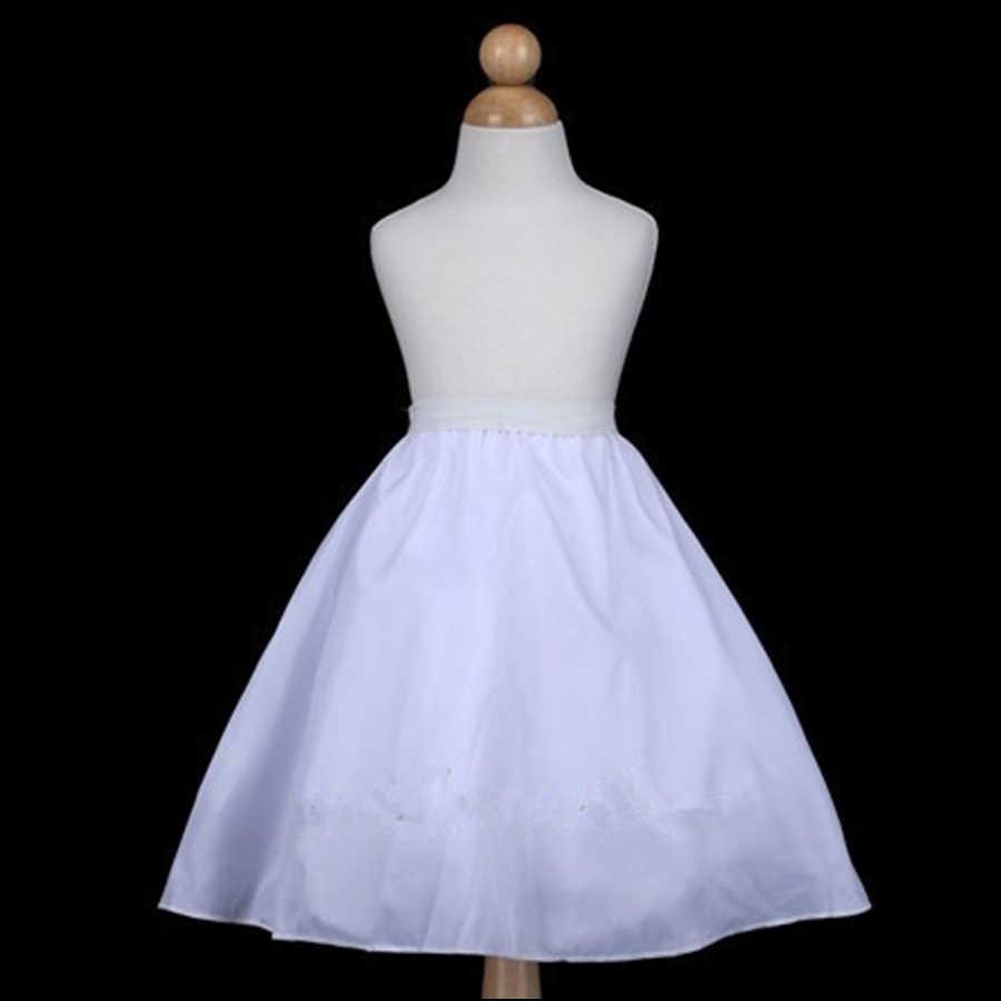 Ярусная юбка для девочек с цветочным рисунком, юбка-американка, 4 слоя, высокое качество, Нижняя юбка для девочек