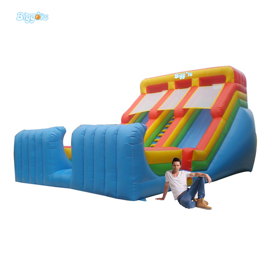 Sea Shipping Double Lane Inflatable Kids Toys Inflatable