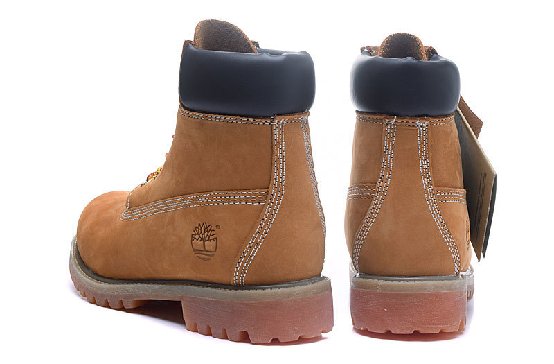 TIMBERLAND Original Brand New Classic Men's Ankle Boots For Men Male Genuine Cow Leather Anti-Slip Premium 10061 High-Top Shoes 5