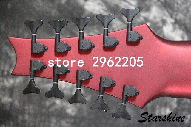 10 String Starshine Atomanderson electric bass 4