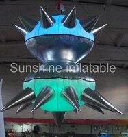 Новые 2 м/7ft висит Свадебные/вечерние/событие/клуб декоративная многоцветная надувные LED Star украшения питания