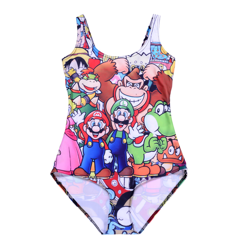 New Arrival Women Game Characters One Piece Sexy Swimsuit -5342