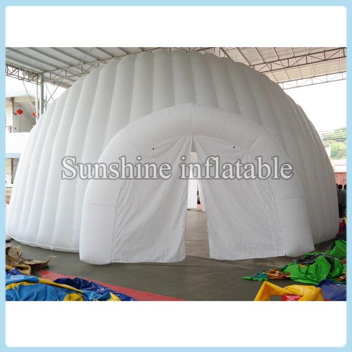 Šotor z napihljivimi zračnimi hišami 6m, napihljiv, napihljiv šotor za disko ples