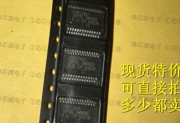 5 teile/los CY8C27443 IC CY8C27443 24PVXI SSOP28