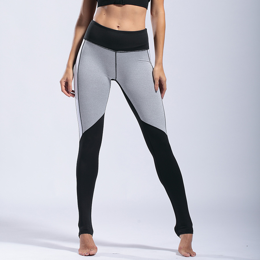 2018 New Women Yoga Pants Print Sports Legging for Fitness Push up Running Tights Workout Trousers Gym Sportswear Capris in Yoga Pants from Sports Entertainment