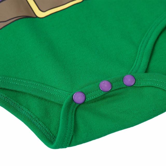 Bébé Garçon Hulk Costume Body Infantile Manches Longues Nouveau-Né Automne Babygrow Combinaison