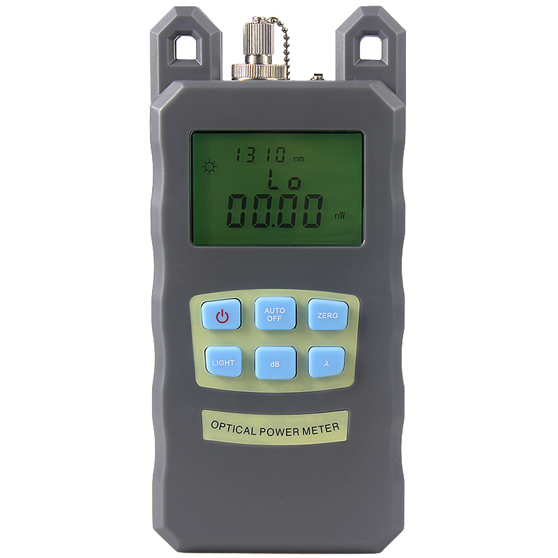 NEW Portable Adjustable Fiber Optic Optical Power Meter Cable Tester Networks FC/SC connectors -70~+10dBm