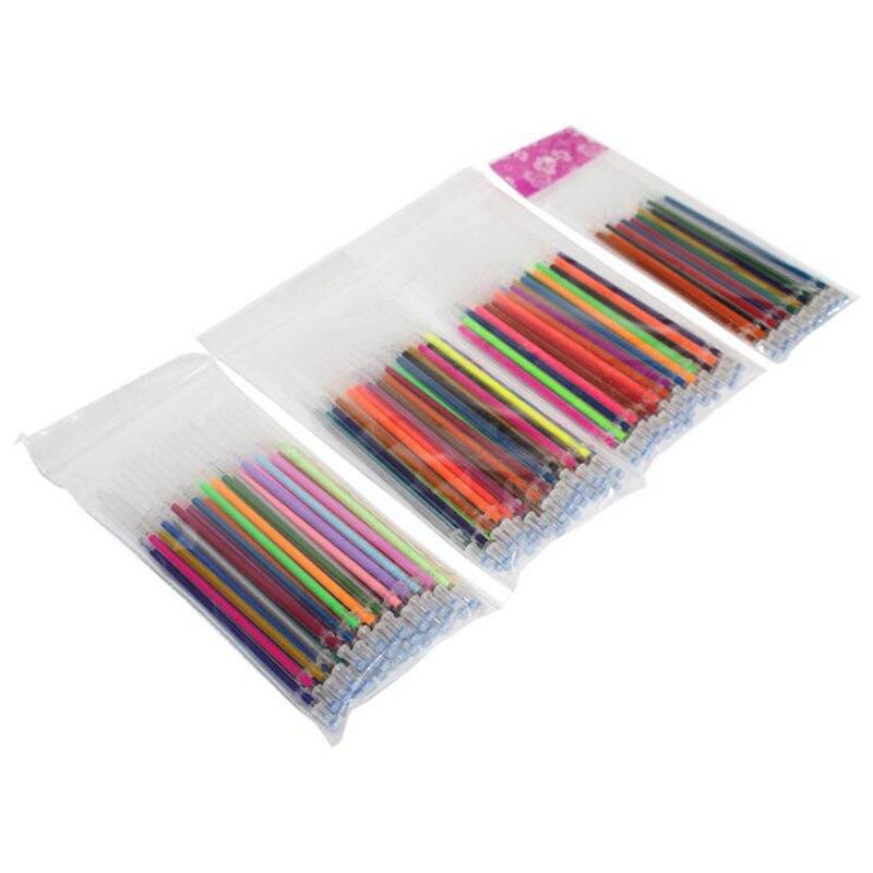 48/36/24/12 Color Flash Pen Highlighter Fill Full Shiny Paint Pen Refill Refill School Student Supplies