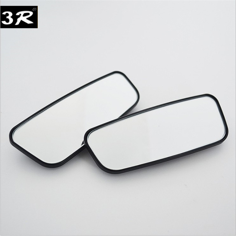 Car Wide Angle Rear View Mirror 360 Degree Rotation Auto Rearview Auxiliary rearview mirror 2 PCS sets in Mirror Covers from Automobiles Motorcycles