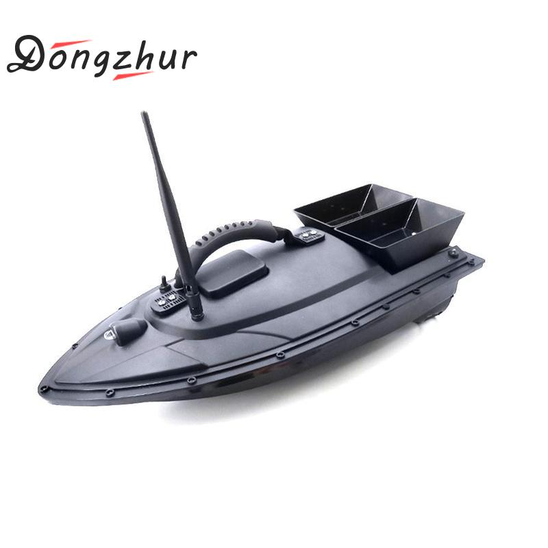 Remote Control Mini Fast Electric RC Fishing Boat Fish Finder 2kg Bait boat Loading 2pcs Tanks with Double Motors Sea Fishing mini fast electric fishing bait boat 300m remote control 500g lure fish finder feeder boat usb rechargeable 8hours 9600mah