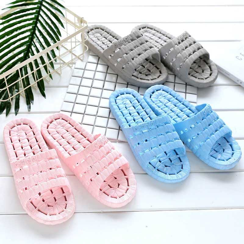 Bathroom slippers slip bath leaking water home shoes women slippers plastic home lovers slides slippers summer flip flops bathroom slippers slip bath leaking water home shoes women slippers plastic home lovers slides slippers summer flip flops