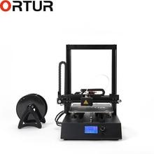 Best Ortur сталь структура 3d принтеры полный комплект Best Impressora переключаемый питание PLA ABS большой принт размеры with16G TF карты