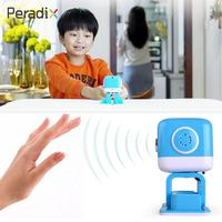 Peradix Smart Robot Education Robot Yellow And Blue Ultrasonic Pre School LED Lights Programme Intelligence For
