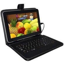 "Free Shipping Bluetooth 3800mha battery Boda 9""  8GB/16GB Quad core Allwinner Dual Camera Android 4.4 Tablet PC Keyboard Bundle"