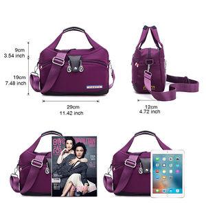 Image 5 - Nylon Women Messenger Bag Ladies Handbags Waterproof Female Shoulder Bag Designer High Quality Crossbody Bags For Teenager Girls