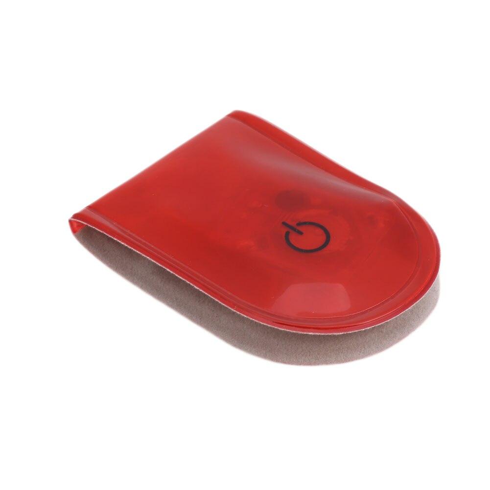 1 шт. велосипедный светильник s сигнальная лампа беговой светильник s светодиодный светильник магнитный зажим Магнит Прочный стробоскоп светильник на открытом воздухе спортивный привлекательный - Цвет: red