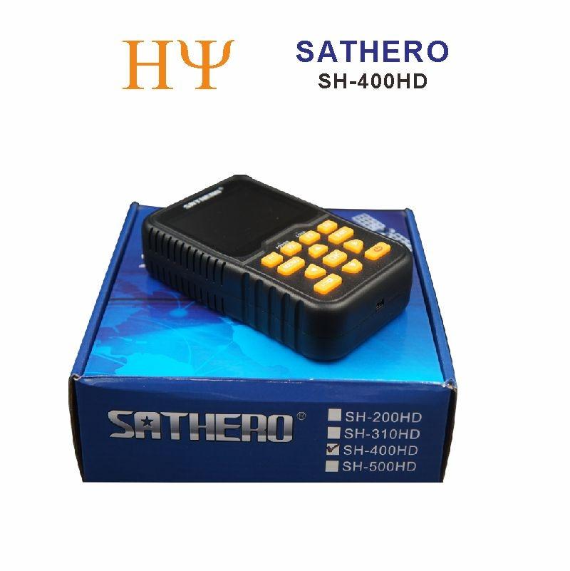 athero SH-400HD 3.5 inch LCD Screen DVB-S2 & DVB-S Signal Finder Support 8PSK 16APSK Digital Meter Sathero 400HD original dvb t satlink ws 6990 terrestrial finder 1 route dvb t modulator av hdmi ws 6990 satlink 6990 digital meter finder