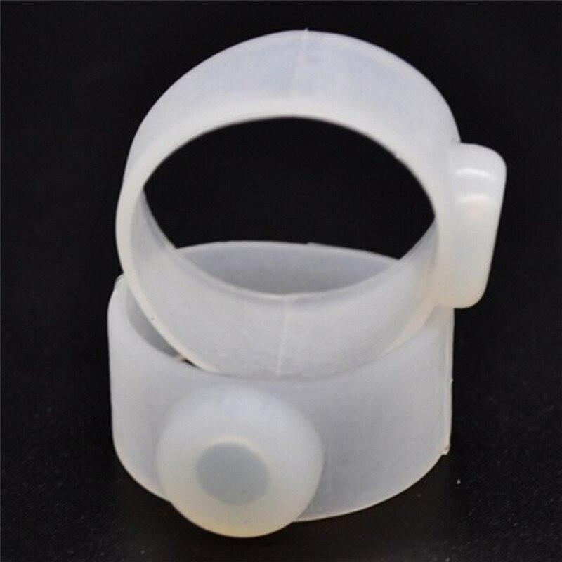 1 Pair Abnehmen Massage Produkt Verlieren Weight Magnetic Körperpflege Werkzeug Silikon Kappe Fuß Ring Schlankheits-cremes