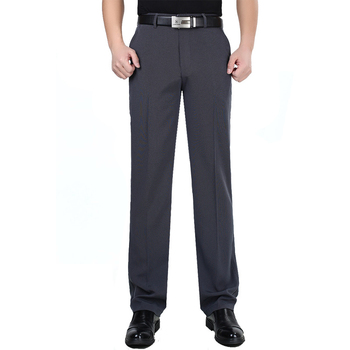Linen Cotton Slacks - Dress Pants