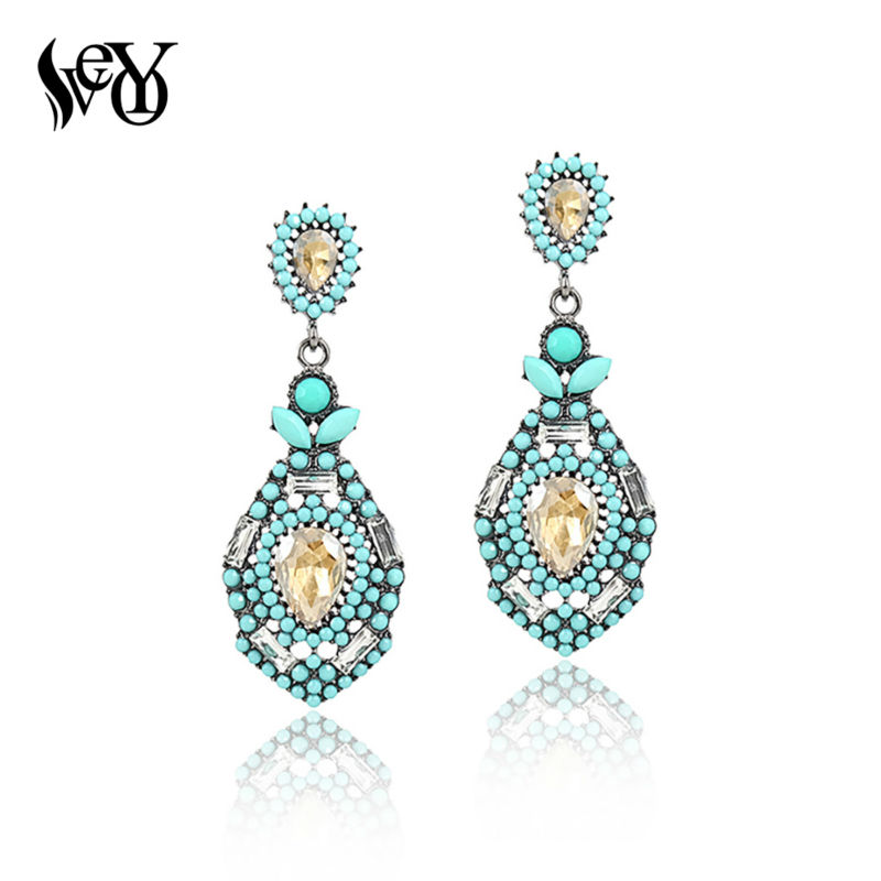 VEYO Classic Hot Sale Earrings For Woman Crystal Drop Earrings High Quality Lead free nickel free