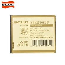 SCUD original EB425161LU Phone Battery For Samsung i699/ i739/ i759/ i8160/ i8190 GALAXY S3 Mini/ S7562/ S7568 battery