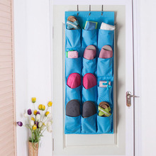 лучшая цена Free shipping Colorful Washable 12 Pockets Over the Door Storage Bag sold by china manufacturer at low price