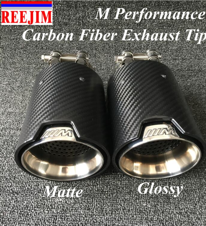 NEW  M Performance carbon  Exhaust Tip  for  BMW Series M3 M4 M5 2012-  car-styling Akrapovic car exhaust muffler nozzle tip