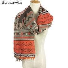 7eb2b27654cf Nouveau Design Femmes De Marque Pom Pom Foulards Plage Châle wraps Aztèque  Tribal écharpe hijab longue