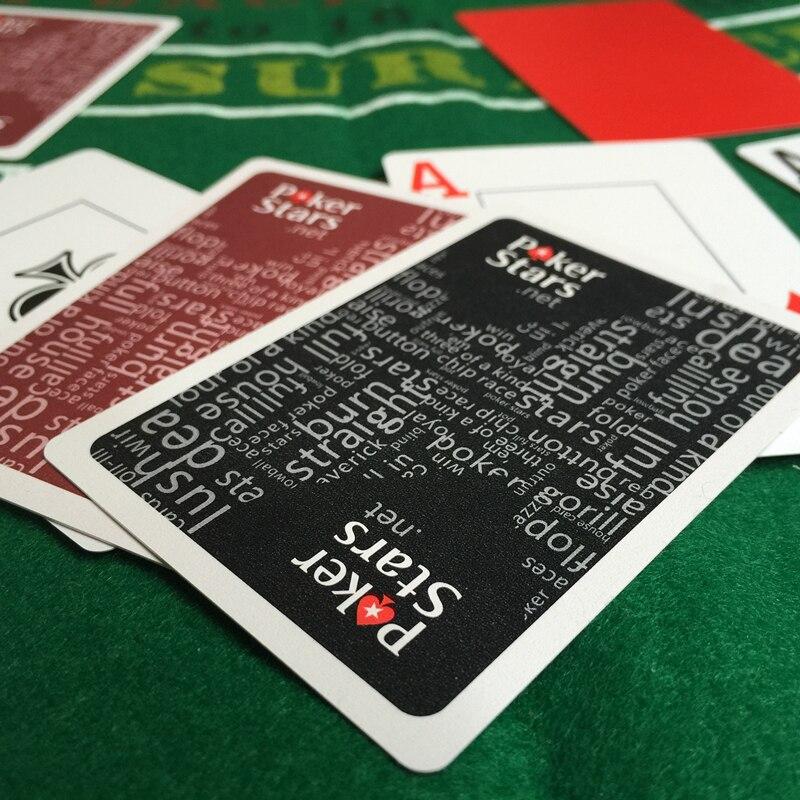 2Sets / Lot Baccarat Texas Hold'em Plastik Oyun Kartları Su - Əyləncələr - Fotoqrafiya 5