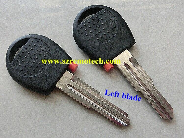 Prix pour 5 pcs/lot Livraison Gratuite De Haute qualité de remplacement transpondeur clé shell DWO4 lame Fit Pour Chevrolet Aveo Transpondeur ébauche de clé