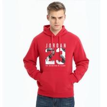 Men 2017 new fashion Jordan 23 men dress hoodies pullover loose cotton men's autumn and winter hooded sweatshirt clothing
