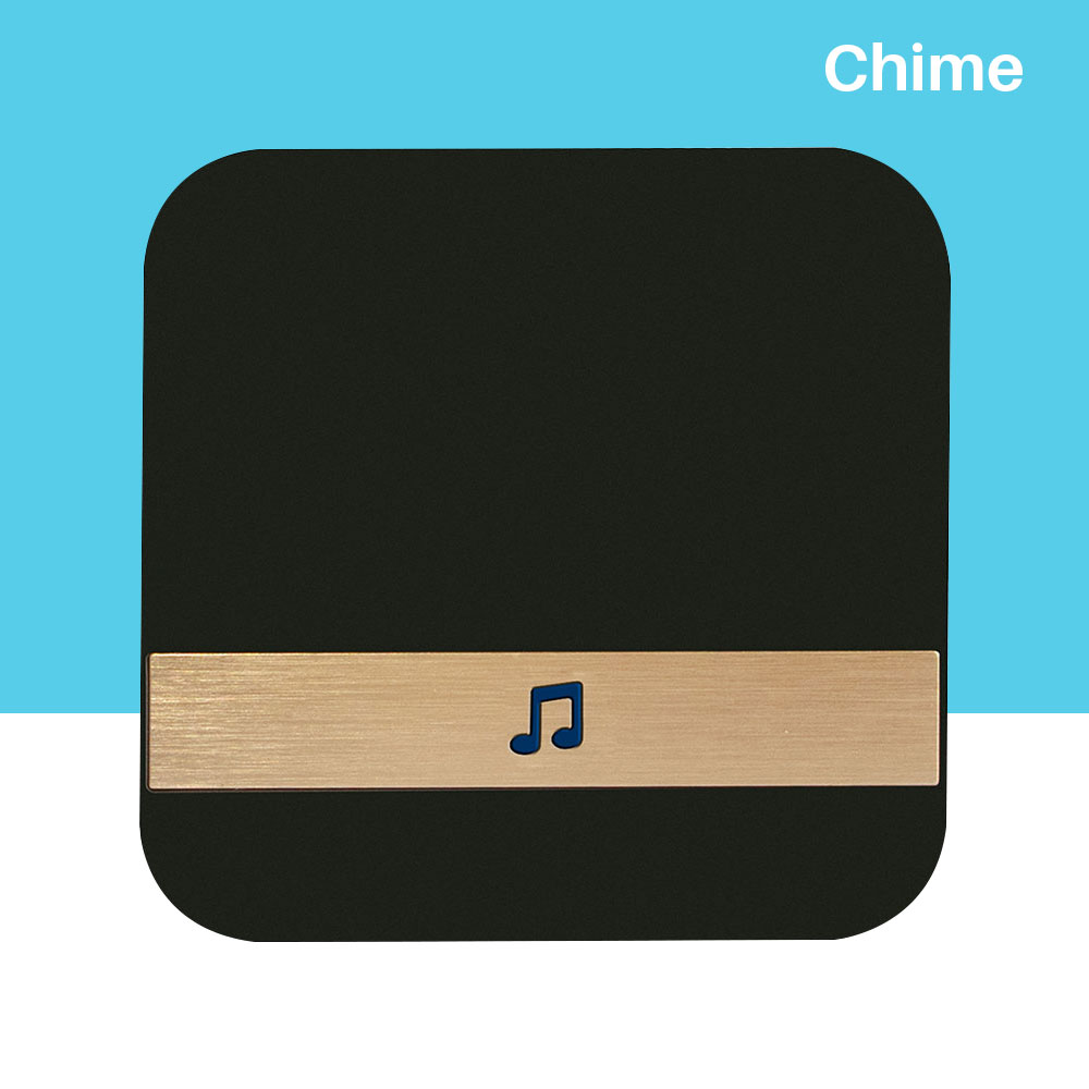 Chime Doorbell Receiver Ding Dong AC 90V-250V 52 Chimes 110dB Wifi Video Doorbell Camera Low Power Consumption Indoor Bell