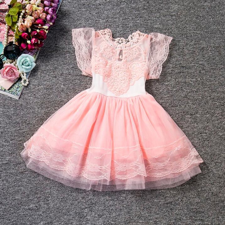 Nicoevaropa Girl Party Dress Kids Frock Designs New