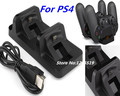 DC 5V USB Port Dual Charging Dock Station Stand Holder Support Charger For Sony PS4 Slim PlayStation 4 Slim Game Controller