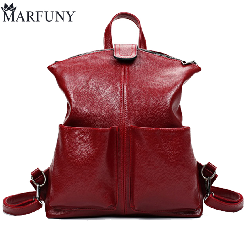 2017 Vintage Women Backpack Women Bag Fashion Solid Backpacks For Teenage Girls School Bags Big Capacity Travelling Backpack jmd backpacks for teenage girls women leather with headphone jack backpack school bag casual large capacity vintage laptop bag