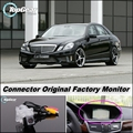 Car Camera Connect Original Factory Screen / Monitor For Mercedes Benz E Class MB W212 High Quality Rear View Back Up Camera