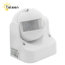 цена на AC 110-220V 180 Degree Outdoor PIR Infrared Motion Sensor Switch Detector Movement Motion Sensor Light Switch for LED Light lamp