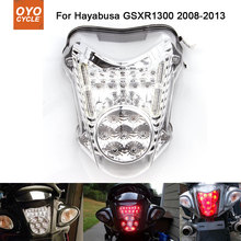 цена на Motorcycle Integrated LED Tail Light Brake Turn Signal Blinker For Suzuki GSXR1300 Hayabusa GSX1300R 2008-2013