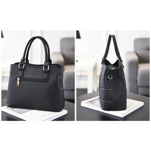 Image 3 - Luxury Handbags Women Bags Designer PU Leather Casual Tote Bag Ladies Hand Bags Women Shoulder Messenger Bag Sac A Main Femme