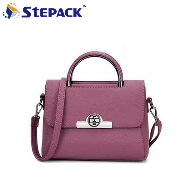 1f5a016bd8a Hot Fashion PU Leather Women Bag Oil Wax Cowhide Simple Design Handbags  Shoulder Bag Messenger Bags High Quality WMB0292-in Shoulder Bags from  Luggage ...