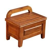 Новый 6 видов стилей 100% деревянные табуреты кресло детский стул с задней ноги табурет мебель для гостиной японский мебель