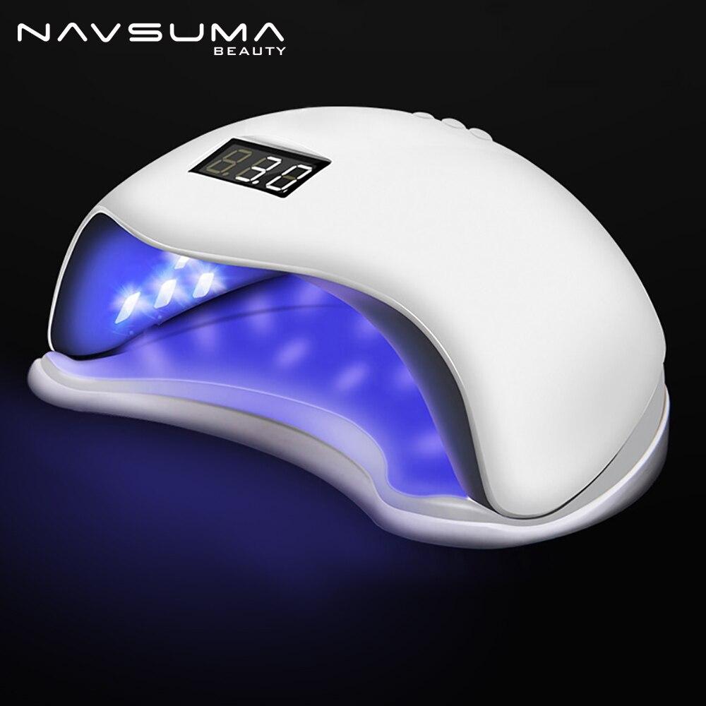NAVSUMA 2018 lampe à led pour ongles et gel lampe de polissage lampe uv sèche-ongles led sèche-ongles 48 W