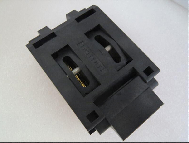 IC51 1444 1014 QFP144 Pitch 0 65mm Size 28x28mm 32x32mm IC seat Test Socket test bench