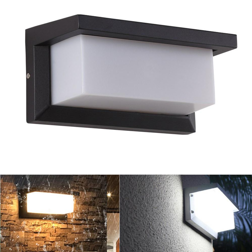 Outdoor Decor Waterproof Led Wall Lamp