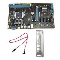 Stable 6GPU Mining Motherboard Bitcoin Board 6 GPU Miner Mainboard 6Slots Support 6 PCI E Extender
